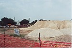 View of the construction of the Bastrop Public Safety Building - April 2000.