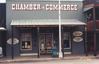 Downtown Bastrop - Bastrop Chamber of Commerce, 927 Main Street.
